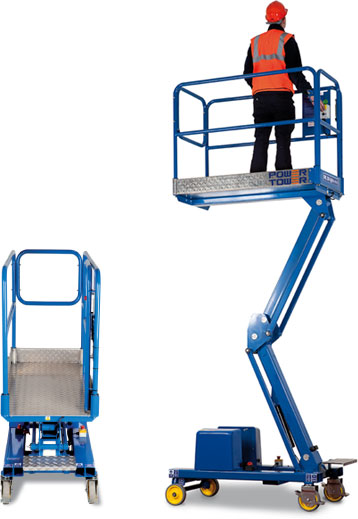 Hire Power Towers from AHS Limited - access platform hire in Sussex and Surrey