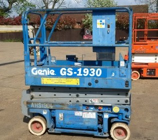 Used Genie GS1930 scissor lift