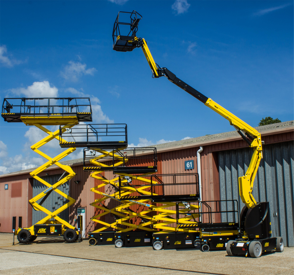 Airo scissor lift and boom lift fleet