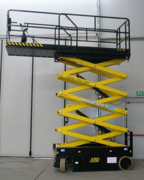 Airo X12EW scissor lift for sale or hire in Sussex