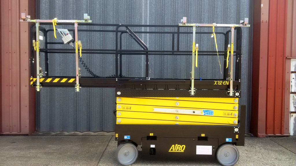 Airo With Double Deckrailxtra Aerial And Handling